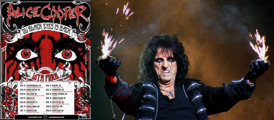 Alice Cooper at Winstar Casino